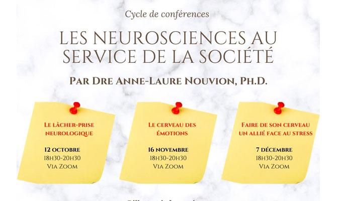 Les Neurosciences au service de la société
