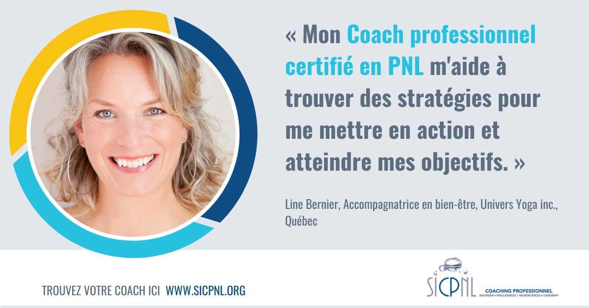 """Campagne 2021 """"Trouvez votre Coach"""" - Témoignage de LIne Bernier"""