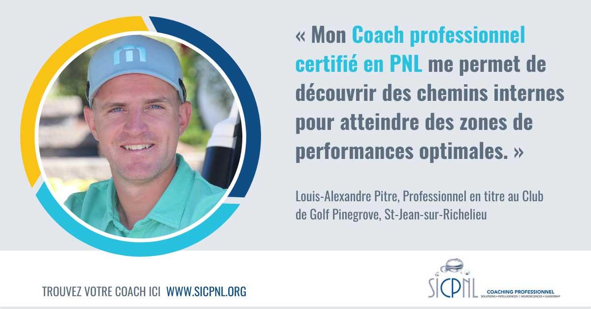 """Campagne 2021 """"Trouvez votre Coach"""" - Témoignage de Louis-Alexandre Pitre"""