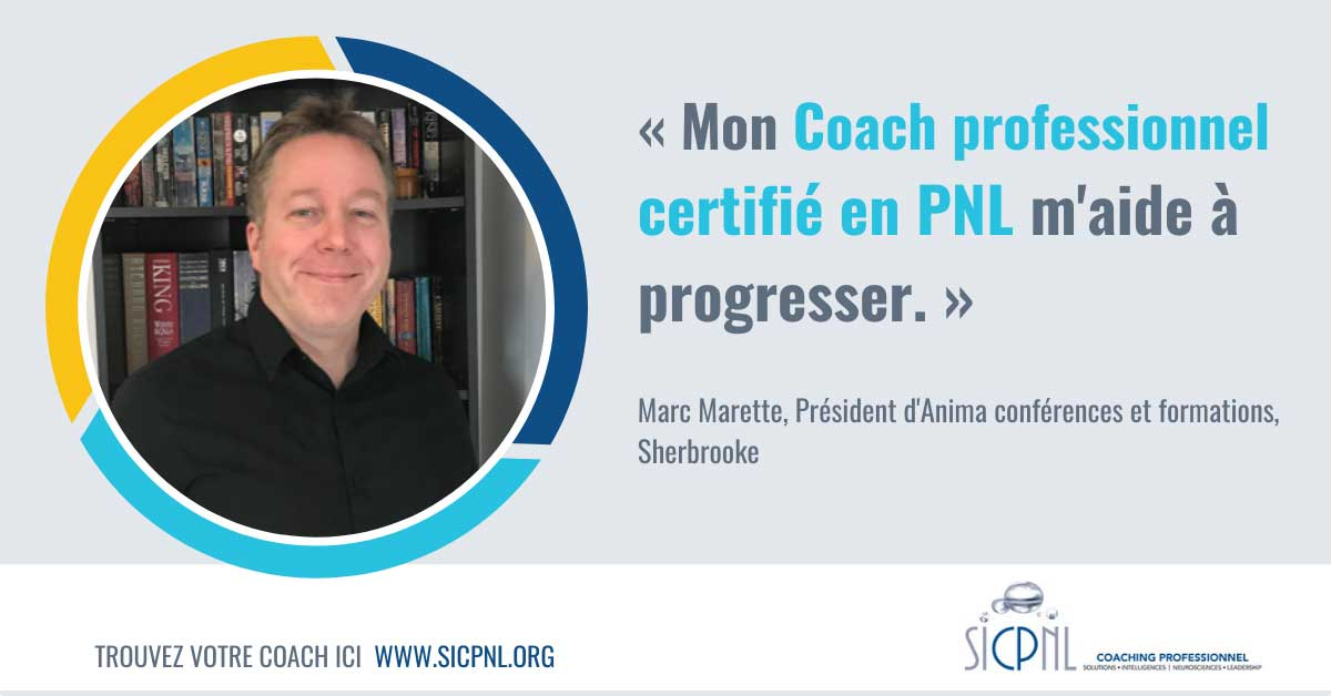 """Campagne 2021 """"Trouvez votre Coach"""" - Témoignage de Marc Marette"""