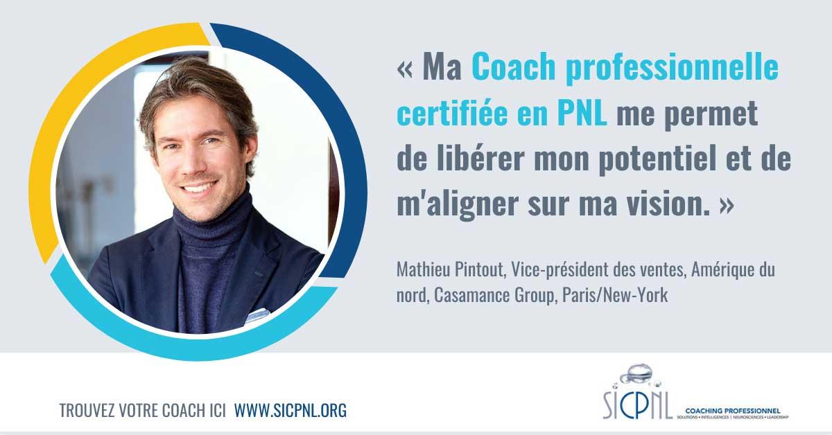 """Campagne 2021 """"Trouvez votre Coach"""" - Témoignage de Mathieu Pintout"""