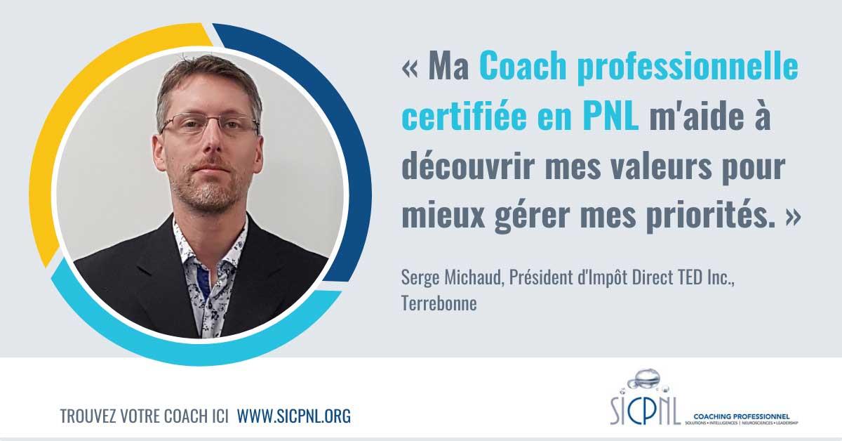 """Campagne 2021 """"Trouvez votre Coach"""" - Témoignage de Serge Michaud"""