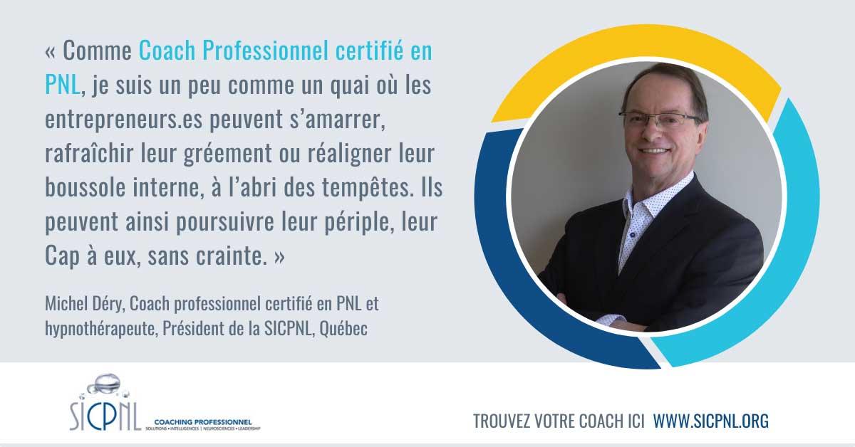 """Campagne 2021 """"Trouvez votre Coach"""" - Témoignage de Michel Déry"""
