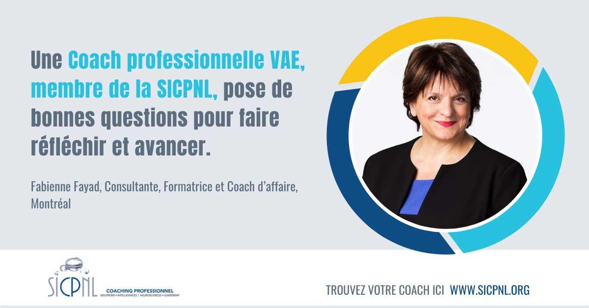 """Campagne 2021 """"Trouvez votre Coach"""" - Témoignage de Fabienne Fayad"""
