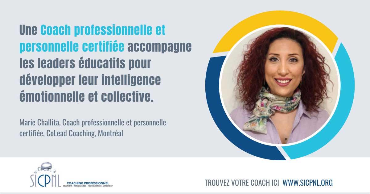 """Campagne 2021 """"Trouvez votre Coach"""" - Témoignage de Marie Challita"""